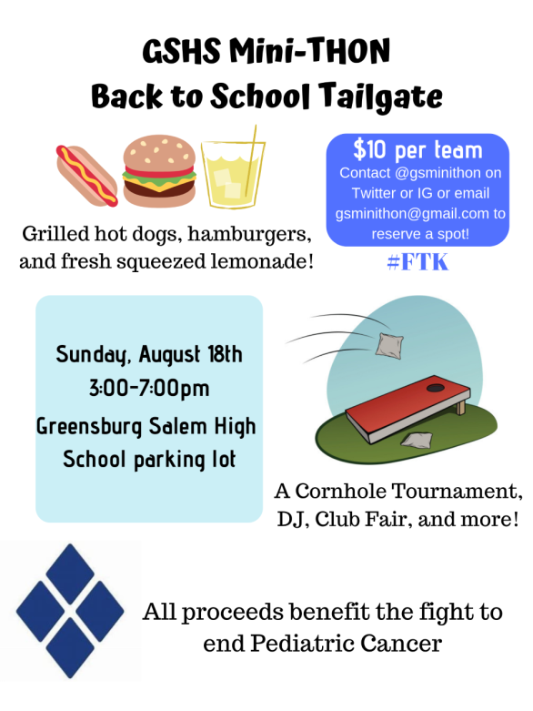 Back to School Tailgate Flyer (screenshot)