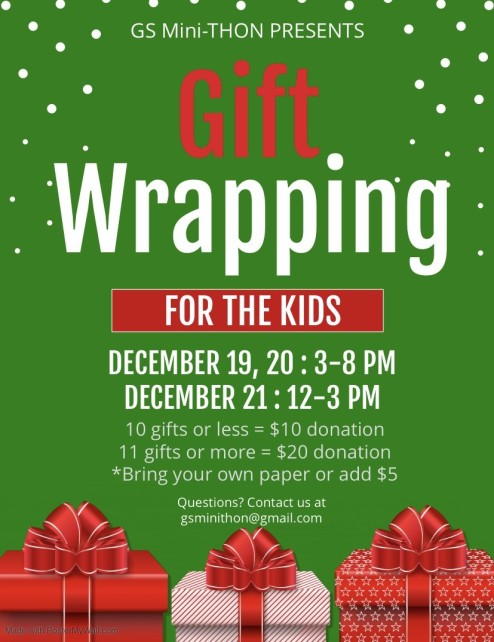 Gift Wrapping FTK Flyer