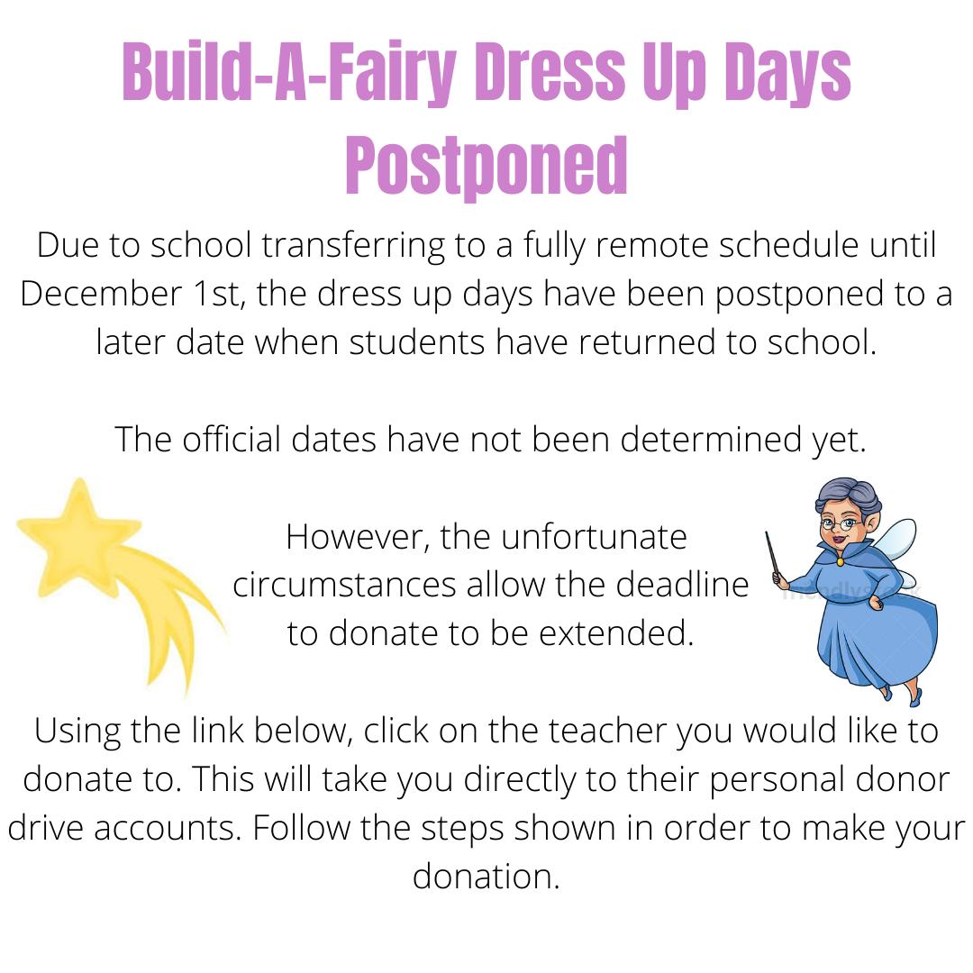 Build-A-Fairy Postponed facebook
