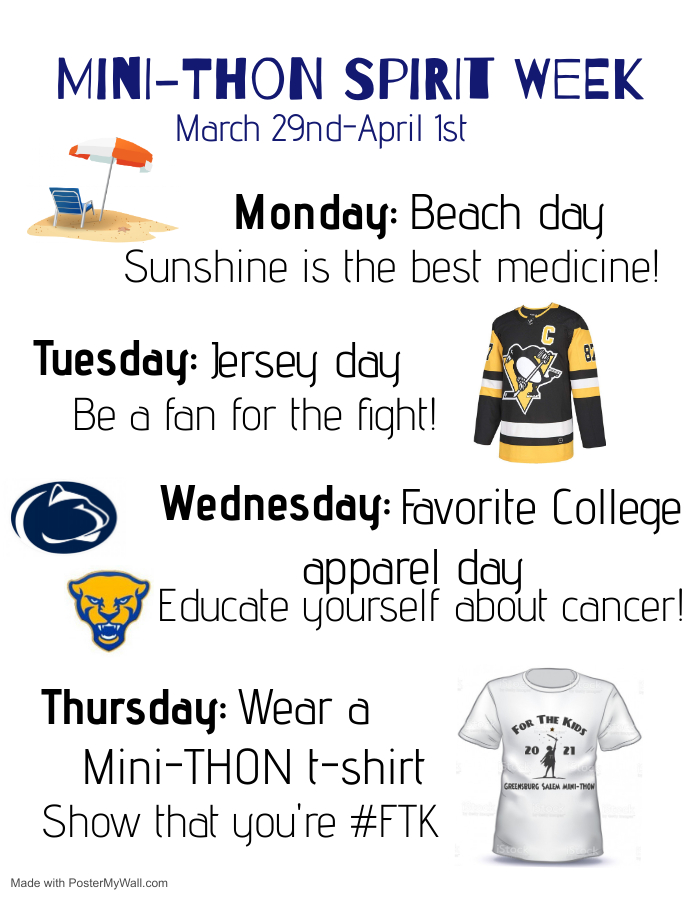spirit week website
